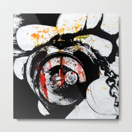 Love Defeated Metal Print