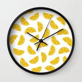 Citrus Slices Wall Clock