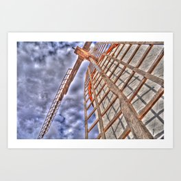 From above or below?  Art Print