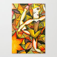 Dancer- Change of Season  Canvas Print