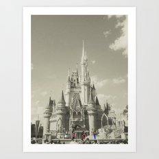 Walt Disney World Art Print
