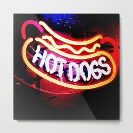 Hot Dogs The Ultimate Americana Metal Print