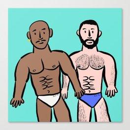 Beard Boy: Sam & Hector Canvas Print