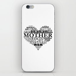 Mother (multilingual) iPhone Skin