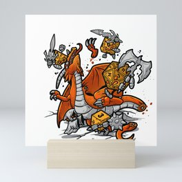 Role Playing Game Dargon Mini Art Print