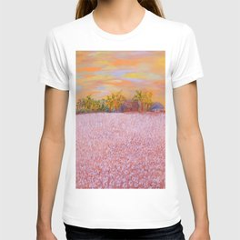 Cotton at Sunset T-shirt