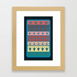 Berber Symbols  Framed Art Print