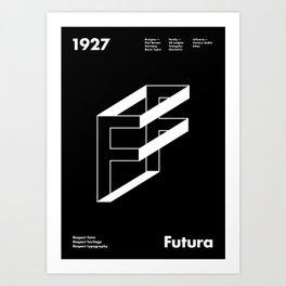Sans Serif Vol. ¹ – Futura Art Print