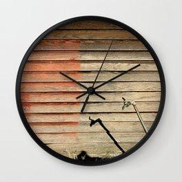 On Tap Wall Clock