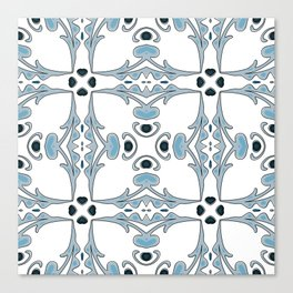 Portuguese Tiles Canvas Print