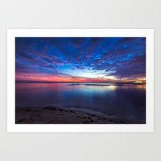 Gulf Coast Colors Art Print
