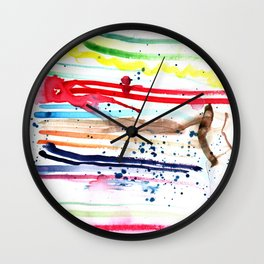 Dark Shade Wall Clock