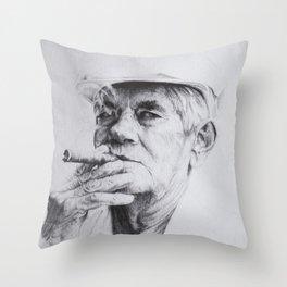 Luis Emilio Serrano Throw Pillow