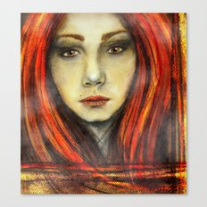 A Girl Called Ina Canvas Print