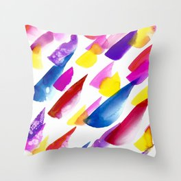 Raindrops C2 Throw Pillow