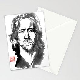 nicolas cage Stationery Cards