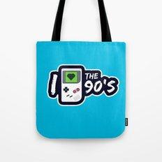 I Heart the 90's Tote Bag