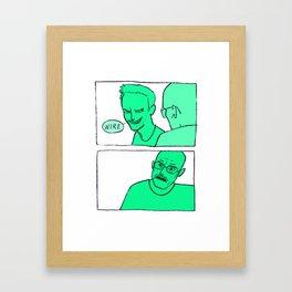 Batteries Framed Art Print