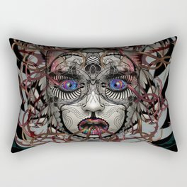 Google Medusa Rectangular Pillow