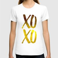 xoxo T-shirts featuring XOXO by cat&wolf