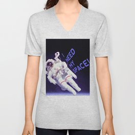 I Need My Space Unisex V-Neck