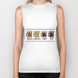 Beer Types Biker Tank