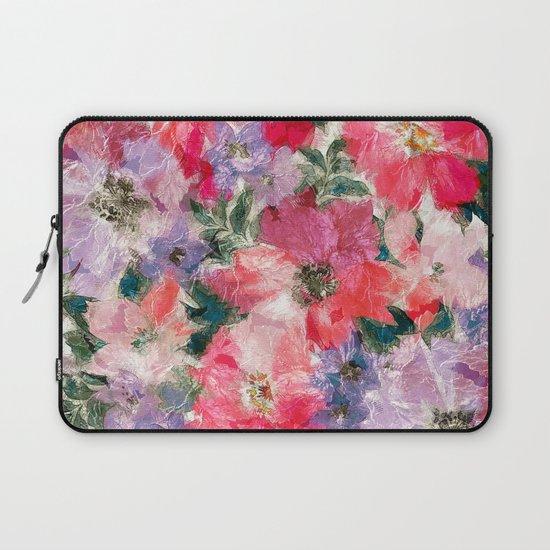 Splendid Flowers 2 Laptop Sleeve