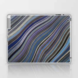 Mild Wavy Lines IV Laptop & iPad Skin