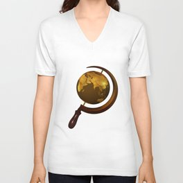 Workers of the Globe Unisex V-Neck