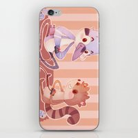 regular show iPhone & iPod Skins featuring Regular Show by SweetOwls