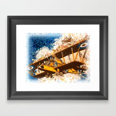 Wings Aloft Framed Art Print