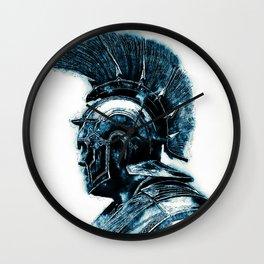 Portrait of a Roman Legionary Wall Clock
