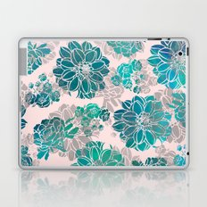 Flower Pattern Design #4 Laptop & iPad Skin