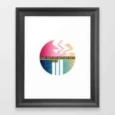 The Sticks Framed Art Print