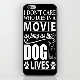 Movie Dog iPhone Skin