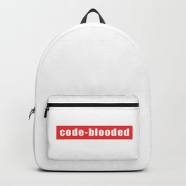 Code-blooded Backpack