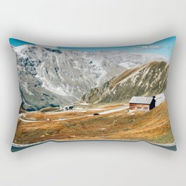 Take the High Road   Grossglockner, Austria Rectangular Pillow