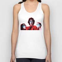 rocky horror picture show Tank Tops featuring The Rocky Horror Picture Show - Pop Art by William Cuccio aka WCSmack
