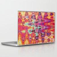 tie dye Laptop & iPad Skins featuring Tie Dye  by Ingrid Padilla