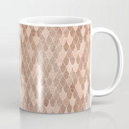 Mermaid Rose Gold Coffee Mug