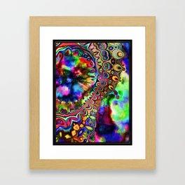 Ride The Rainbow Framed Art Print