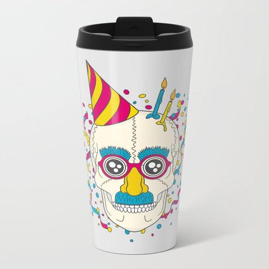 Happy Birthday Metal Travel Mug