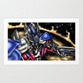OptimusP Art Print