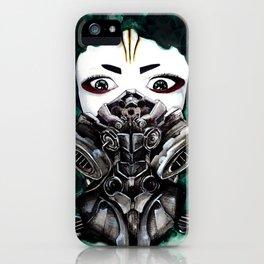 Cyberpunk Kyoshi Warrior iPhone Case