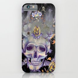 Skully the Skeleton and Friends iPhone Case