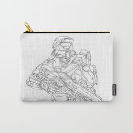 HALO Master Chief continuous line Carry-All Pouch