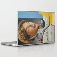 postcard Laptop & iPad Skins featuring Postcard #29 by Jon Duci
