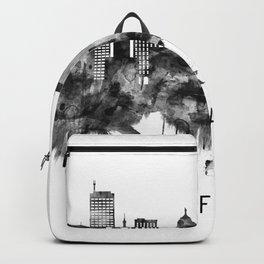 Buffalo New York Skyline BW Backpack