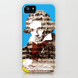 Ludwig van Beethoven 2 iPhone Case