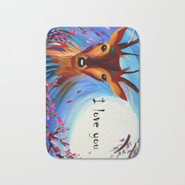 Deer Phone Case Bath Mat